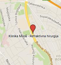 klinika milos beograd mapa Miloš Klinika klinika milos beograd mapa